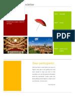 Zagreb EUDC 2014 Newsletter