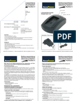 AccuPower Panther5 Charger User Manual