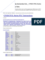 CX Programer-Help-Instruction Sets _ CP1H-CP1L Series