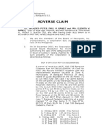 Adverse Claim