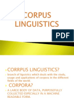 Corpus Linguistics Slides