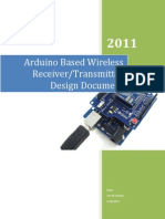 Arduino Wireless Receiver_transmitter Design_Document