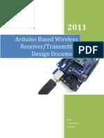 Arduino Wireless Receiver_transmitter Design_Document
