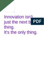 Innovator's Accelerator Online Learning Brochure
