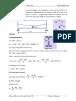 Prestressed Beam Analysis Exampl
