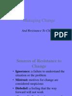Overcoming Resistance 2