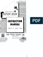 Fordson Major Tractor Manual