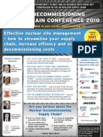 Nuclear Decommissioning Supply Chain Conference