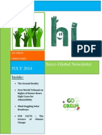 Environmental Newsletter - July 2014