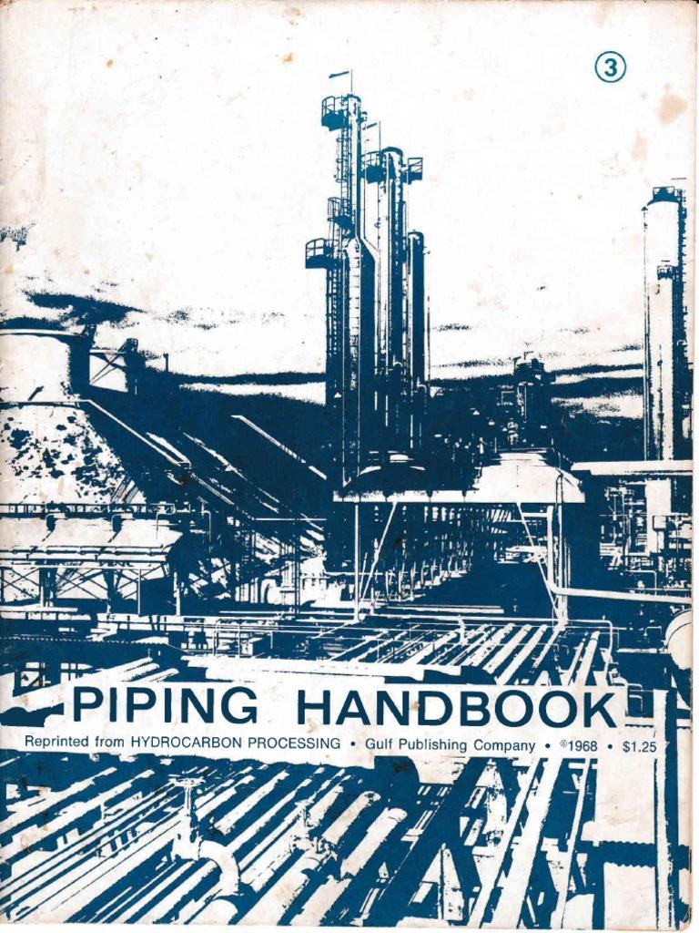 Piping Handbook - Hydrocarbon Processing -1968   Bending   Stress ...