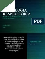 Monitoria de Semiologia Respiratória