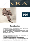 ZARA`S Supply Chain Management Study