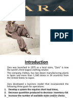 zara supply chain management case study solution