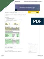 The CircuitCalculator.com Blog » PCB Trace Width Calculator