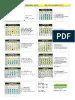 2014-2015 DAIS Calendar