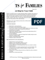 24 When to Seek Help for Your Child