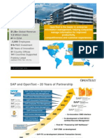 SAP Solution Extensions by OpenText