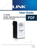 Tl-pa251 251kit User Manual
