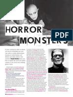 Media Magazine- Horror