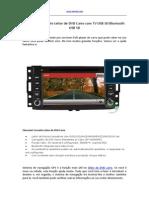 Chevrolet Corvette Leitor de DVD Carro Com TV USB SD Bluetooth USB SD