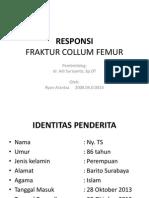 Responsi Fraktur Collum Femur