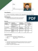 Arindam CV