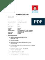 Curriculum Vitae Yayan