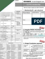2014 CIS PTO Membership Form
