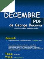 George BACOVIA - Decembre cu tranzitii