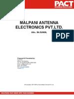 Malpani Antenna Electronics Pvt[1]
