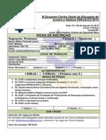 Ficha de Inscrição III EREJA CO