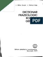 Dicţionar Frazeologic Roman German
