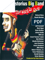 Jaco Pastorius Big Band - The Word is Out (CD Book)
