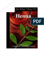 Catherine Cartwright-Jones Henna for Hair