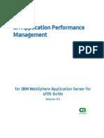 APM_9.5--APM for IBM WebSphere Application Server ZOS Guide