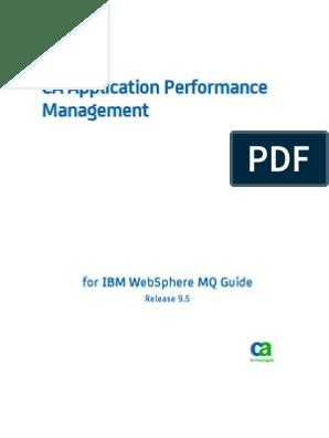 APM_9 5--APM for IBM WebSphere MQ Guide   Information