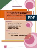 Diseño Cuadrado Latino y Grecolatino