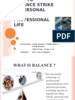How to Balance Strike in Personal and Professional Life