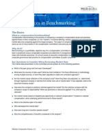 Benchmarking Regarding Compensation