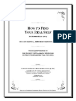 How to Find Your Real Self by Milfred Mann 1952 SMSE 2011