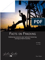 Facts on Fracking