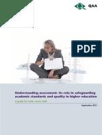 QAA Understanding Assessment