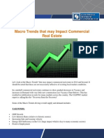 Macro Trends That May Impact Commercial Real Estate