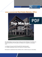 Best Commercial Real Estate Markets-Office