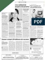 """Entrevista en """"El comercio"""" de Ecuador"""