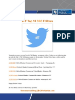 #FF Top 10 CBC Follows