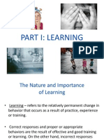 Learning and Thinking
