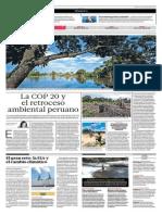 La COP 20 y El Retraso Ambiental Peruano