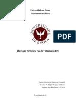 ópera em portugal - 7 libretos na BPE