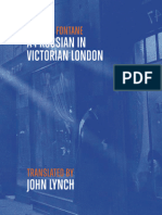 A Prussian in Victorian London by John Lynch
